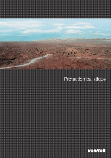 Protection balistique - Von Roll
