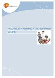 Glaxosmithkline plc - EHS Report - 2004