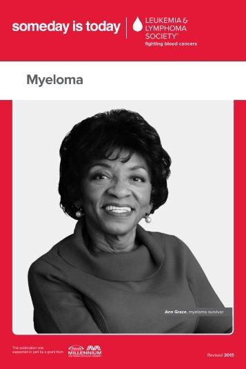 Myeloma - The Leukemia & Lymphoma Society