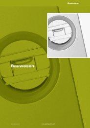 Auszug Leistungskatalog 2012 - Bauwesen - Quality Austria