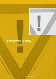 Auszug Leistungskatalog 2012 - Sicherheit (Safety) - Quality Austria