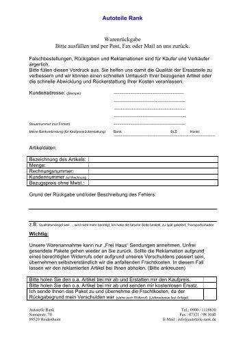 Zu unserer Leihwerkzeug-Übersicht - Autoteile Berlin GmbH