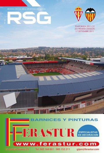 revista oficial real sporting de gijón temporada 2011/12 j04 primera ...