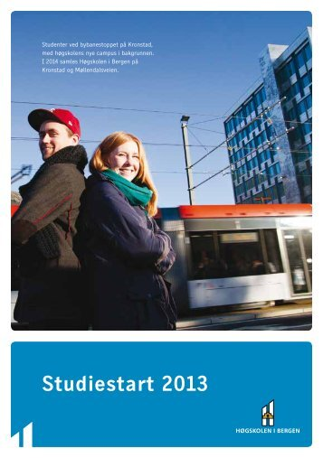 Studiestartheftet - For studenter - Høgskolen i Bergen