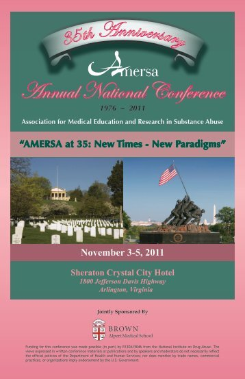 Annual National Conference - AMERSA