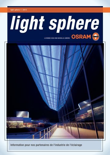LIGHT SPHERE 1/2013 - Osram