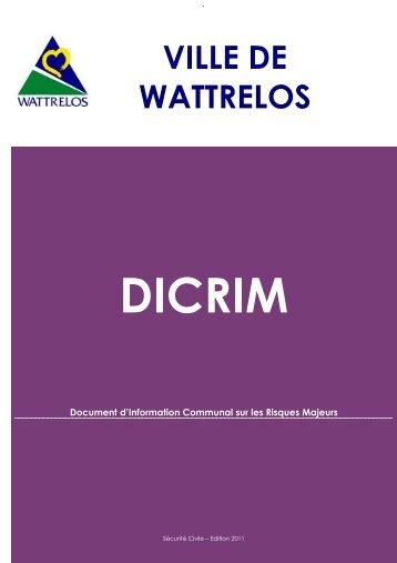 Télécharger le fichier DICRIM.pdf (9,29 Mo) - Ville de Wattrelos