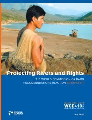 Protecting Rivers and Rights: The World Commission on Dams ...