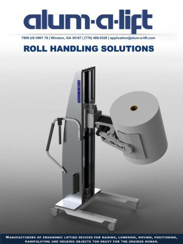 ROLL HANDLING SOLUTIONS - Alum-A-Lift