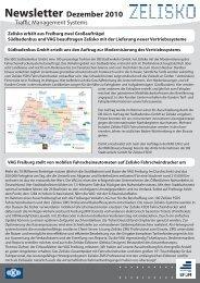 Newsletter Dezember 2010 - Zelisko