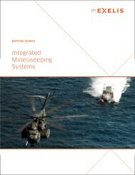 ITT Exelis Integrated Minesweeping Systems