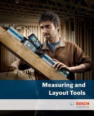 Measuring and Layout Tools - Bosch Power Tools