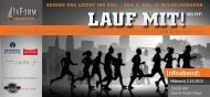 "Info-Flyer ""Lauf mit – sei fit!"" - InForm FitnessCLUB"