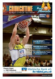 EWE Baskets Oldenburg - Phoenix Hagen