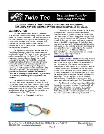 twin tec user instructions for bluetooth interface daytona twin tec?qualityu003d85 i found a photo of the twin tec pro daytona twintec coil fischer daytona twin tec wiring diagram at crackthecode.co