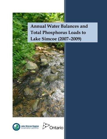 phosphorus_etal_ 2007_2009.pdf - Lake Simcoe Region ...