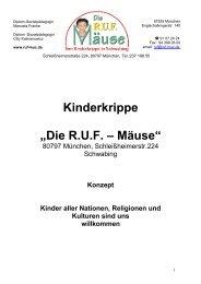 """Kinderkrippe """"Die R.U.F. – Mäuse"""""""