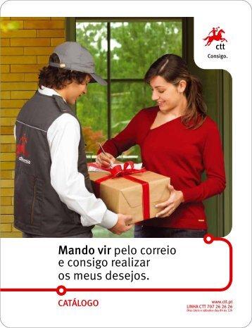 Mando vir pelo correio e consigo realizar os meus desejos. - CTT