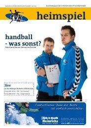 handball - was sonst? - TV Korschenbroich Handball