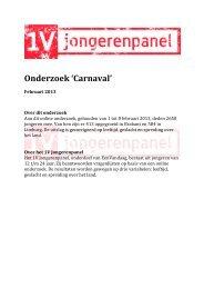 Onderzoek 'Carnaval' - EenVandaag