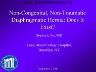 Non-Congenital, Non-Traumatic Diaphragmatic Hernia: Does It Exist?