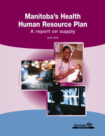 Manitoba's Health Human Resource Plan - Government of Manitoba