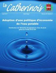Juin 2011 - Ville de Sainte-Catherine-de-la-Jacques-Cartier
