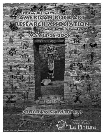 34 no. 4 - American Rock Art Research Association