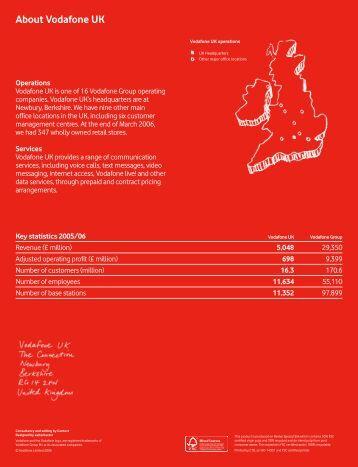 Report 2005/06 - Vodafone