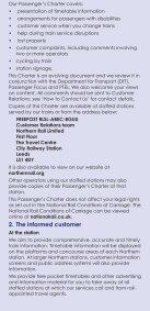 Passenger's Charter - Northern Rail - Page 4