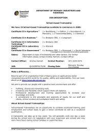 attached the Job Description - Crescents of Brisbane