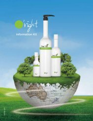 Information Kit - Organic Hair Color for Salon Professionals