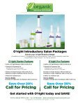 Information Kit - Organic Hair Color for Salon Professionals - Page 6