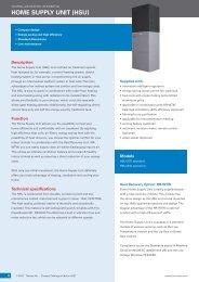 Home Supply uniT (HSu) - Energy Efficient