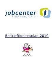 Beskæftigelsesplan 2010_0.pdf - Ringkøbing-Skjern Kommune