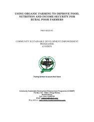 Project Proposal on Organic Farming.pdf - Global Hand
