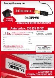 ra-MicrO antwortfax: 030 435 99 301