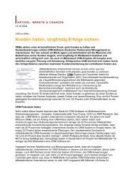 SMB NEWS - Schwetz Consulting