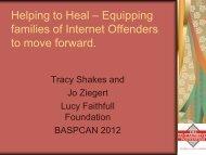 Tracy Shakes - BASPCAN