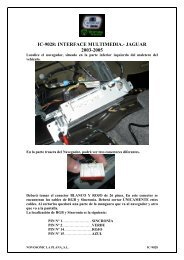 ic-9028: interface multimedia.- jaguar 2003-2005 - Novosonic