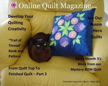 Elaine Quehl - Online Quilt Magazine.com