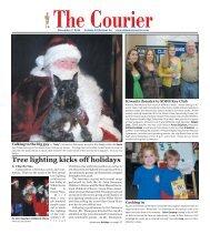 The Courier Tree Lighting Kicks Off Holidays