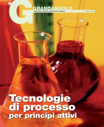 Tecnologie di processo Tecnologie di processo - Promedianet.it