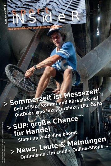 sportINSIDER 3/2013 PDF - Freizeitalpin