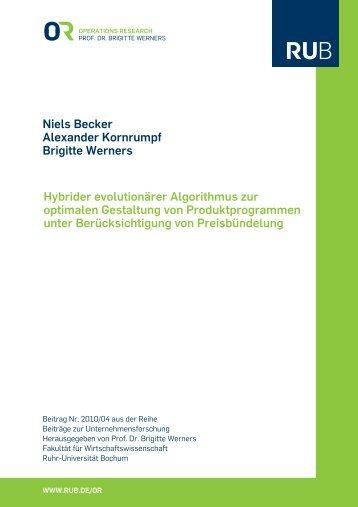Kornrumpf, Alexander; Werners, Brigitte (2010): Hybrider