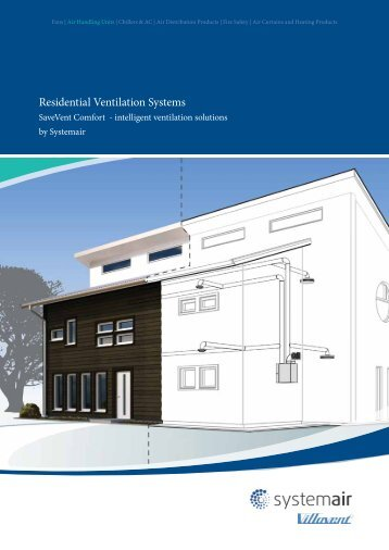 Residential Ventilation Systems - Systemair