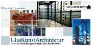 Einladung/Informationen zum Symposium Glaskunst