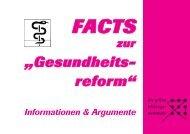 """""""Gesundheits- reform"""""""