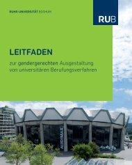 LEitfadEn - Ruhr-Universität Bochum