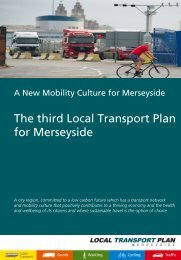The third Local Transport Plan for Merseyside - the TravelWise ...
